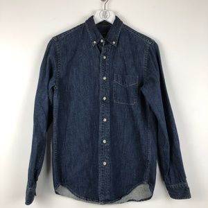 J. Crew Slim Midweight Denim Shirt